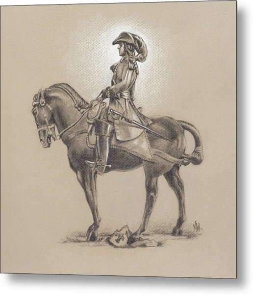The Most Illustrious John Churchill, First Duke Of Marlborough Metal Print