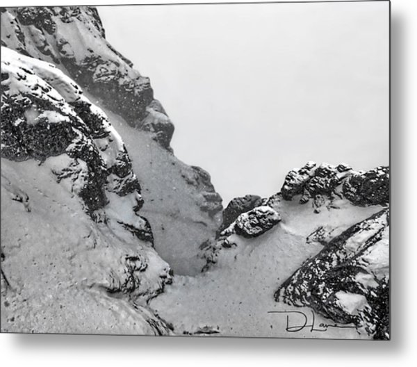 The Mountain Abyss Metal Print