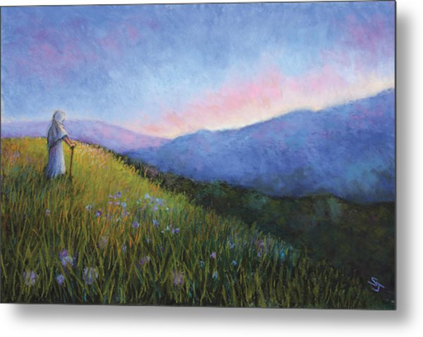 The Mountain Queen Page 6 Metal Print