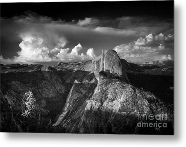 The Mountains Are Calling... Metal Print