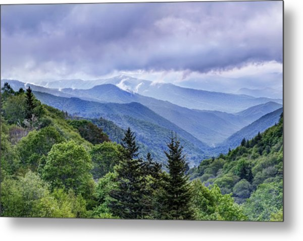 The Mountains Of Great Smoky Mountains National Park Metal Print