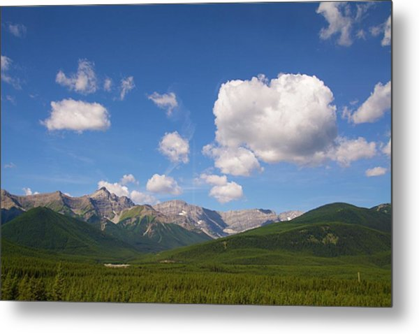 Metal Print featuring the photograph The Mountains  by Ralph Jones