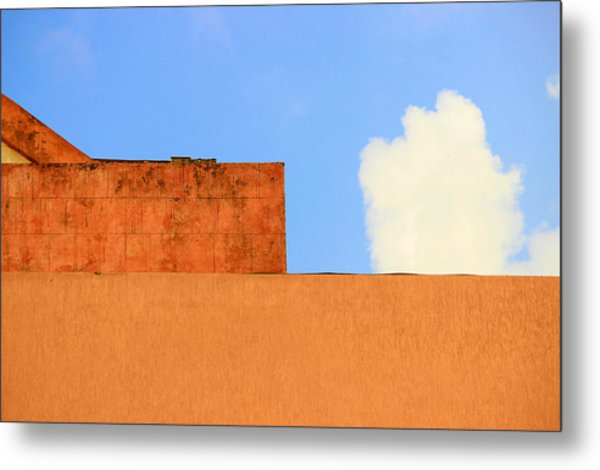 The Muted Cloud Metal Print