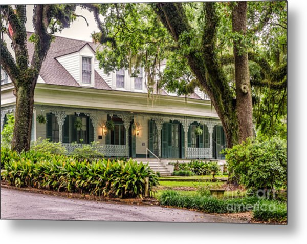 The Myrtle's Plantation -st Francisville La Metal Print