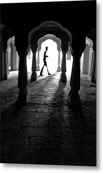 The Mystery Man Metal Print