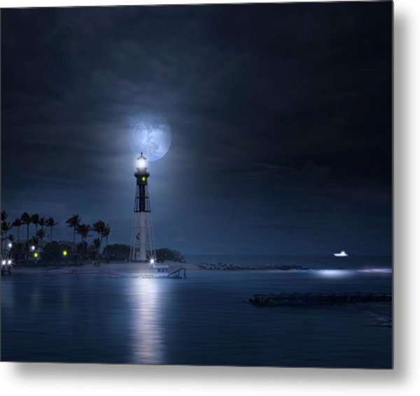 The Mystery Of Lighthouse Cove Metal Print