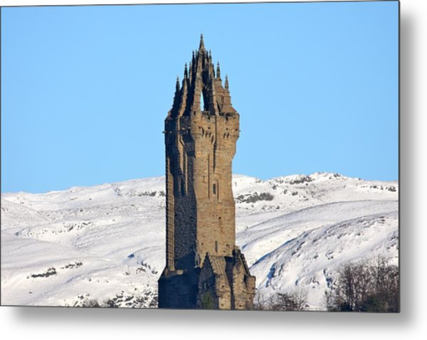 The National Wallace Monument Metal Print