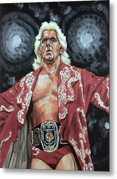 The Nature Boy Ric Flair Metal Print