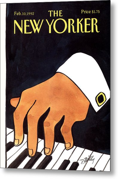 The New Yorker Cover - February 10th, 1992 Metal Print