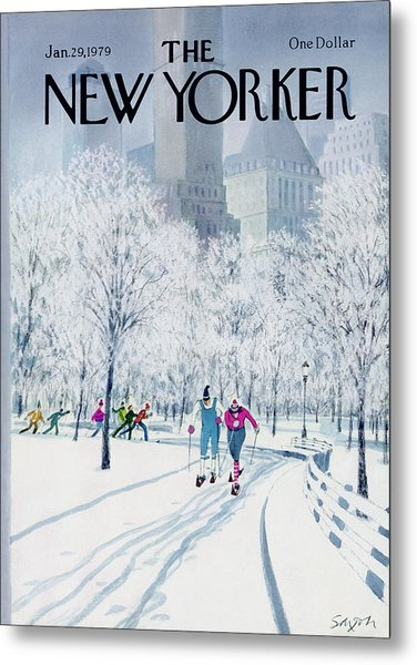 The New Yorker Cover - January 29th, 1979 Metal Print