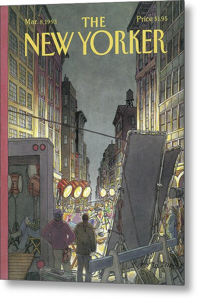 New Yorker March 8th, 1993 Metal Print