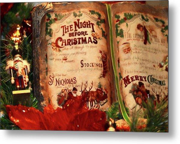 The Night Before Christmas Metal Print
