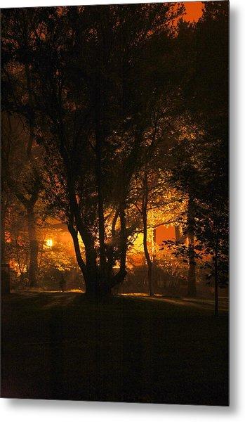 The Night Glows Metal Print by Megen McAuliffe