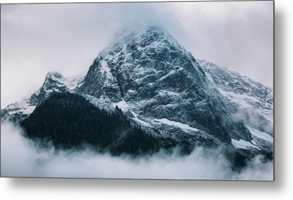 The North Cascades Metal Print