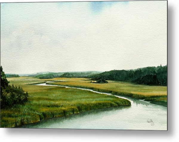The North River Metal Print