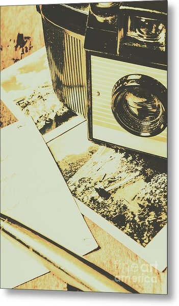 The Nostalgic Archive Metal Print