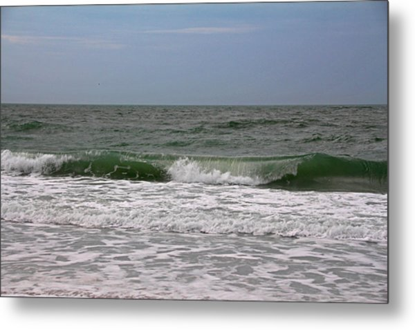 The Ocean In Motion Metal Print