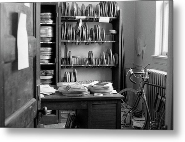 The Office Of A Teaching Assistant, 1979 Metal Print