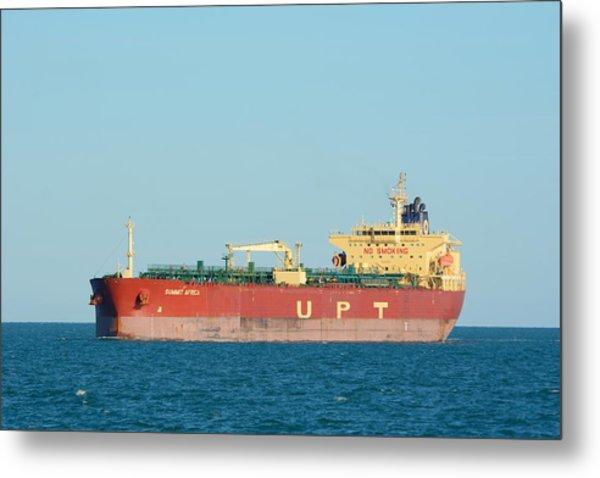 The Oil Tanker Summit Africa Metal Print