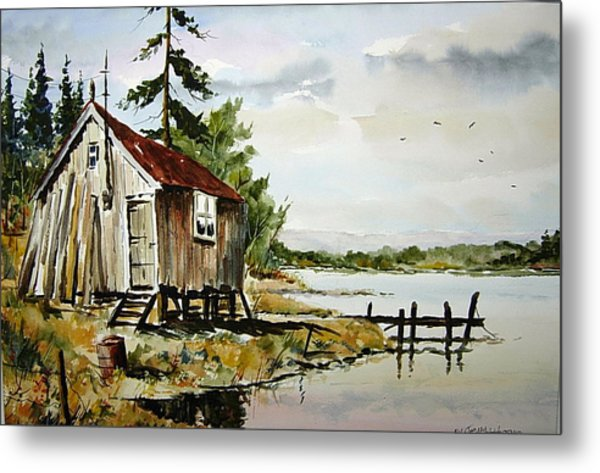 The Old Bait Store Metal Print
