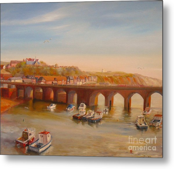 The Old Bridge - Folkestone Harbour Metal Print