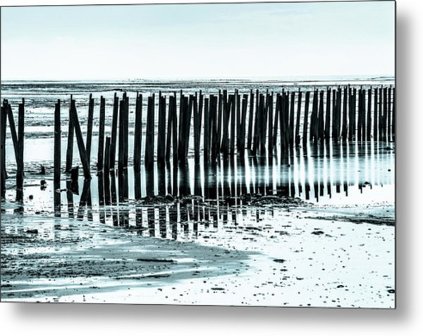 The Old Docks Metal Print