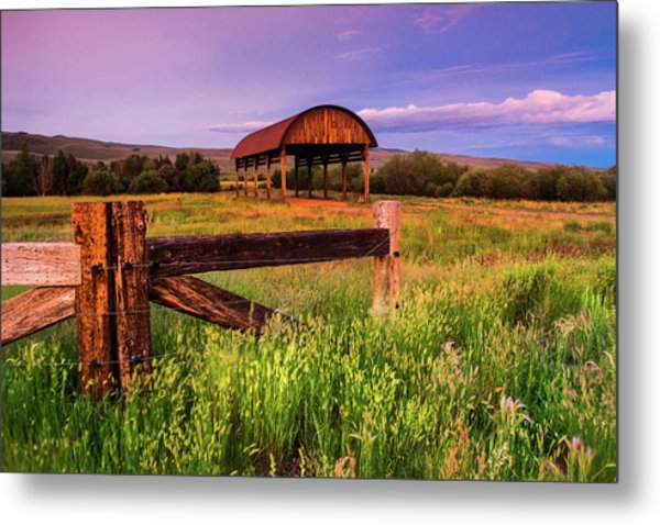 The Old Hay Barn Metal Print