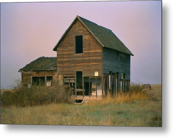 The Old Homestead Metal Print by JoJo Photography