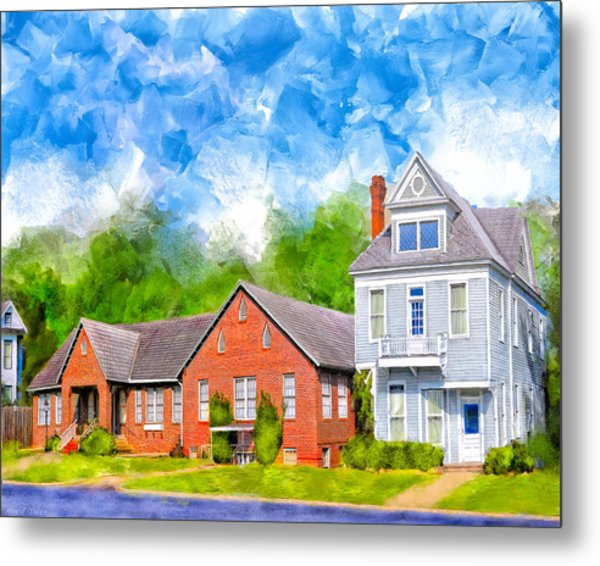 The Old Hospital - Montezuma Georgia Metal Print