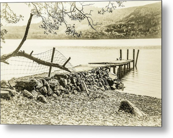 The Old Jetty Metal Print