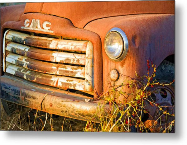 The Old Jimmy Metal Print by Patricia Stalter