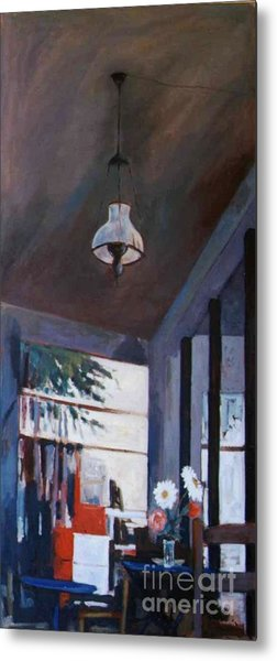 The Old Lamp Metal Print by George Siaba