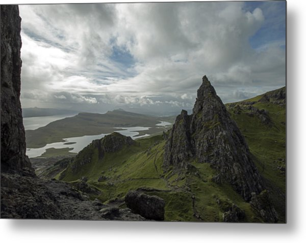 The Old Man Of Storr Metal Print