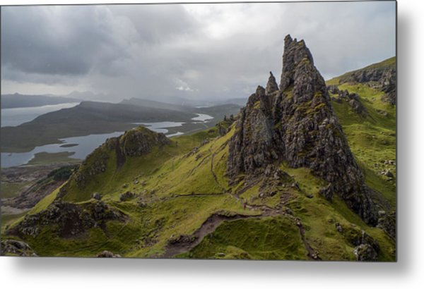 The Old Man Of Storr, Isle Of Skye, Uk Metal Print