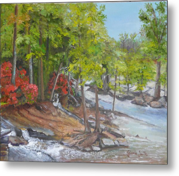 The Old Mill Metal Print by Gloria Smith
