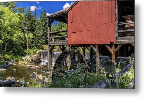 The Old Mill Museum. Metal Print