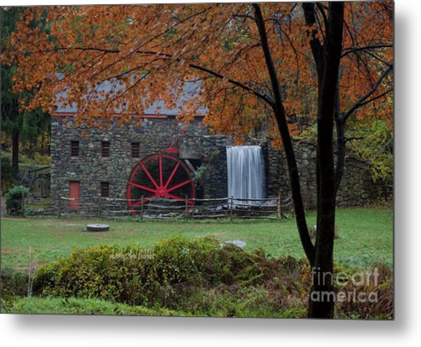 The Old Mill New England  Metal Print