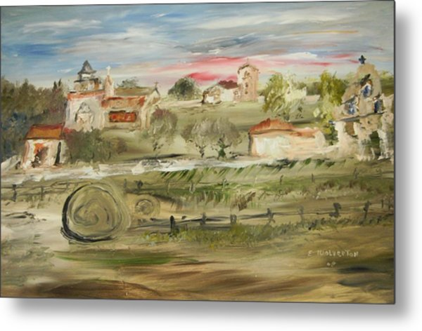The Old Mission Metal Print by Edward Wolverton