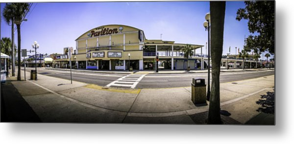 The Old Myrtle Beach Pavilion Metal Print