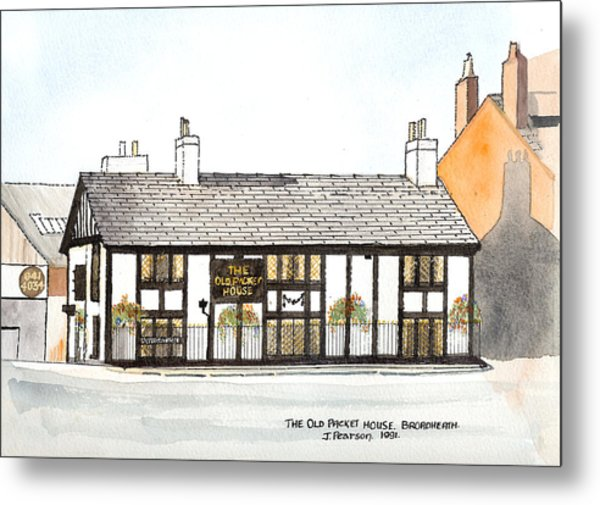 The Old Packet House Metal Print