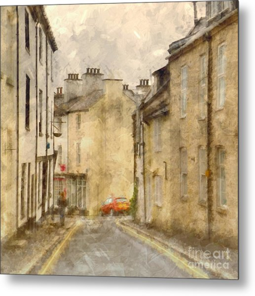 The Old Part Of Town Metal Print