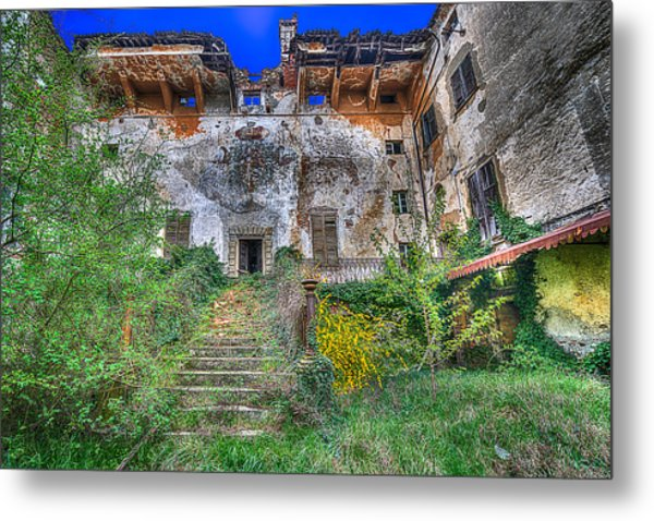 The Old Ruined Castle Metal Print