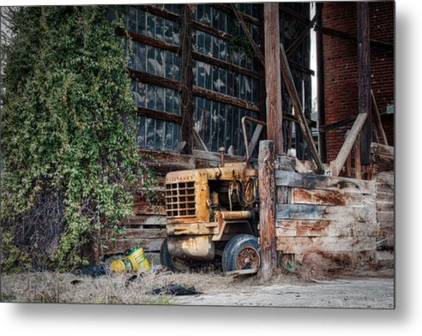 The Old Train Depot Metal Print