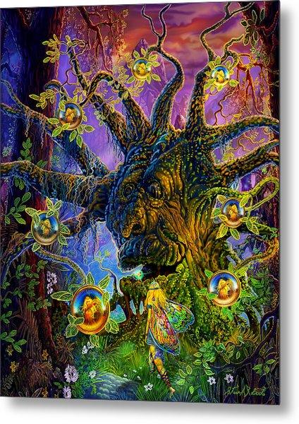 The Old Tree Of Dreams Metal Print