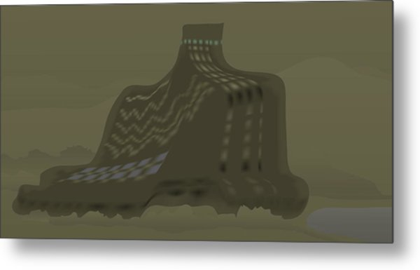 The Olive Citadel Metal Print