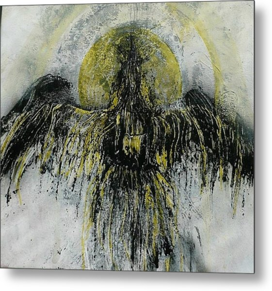 The Omen Metal Print