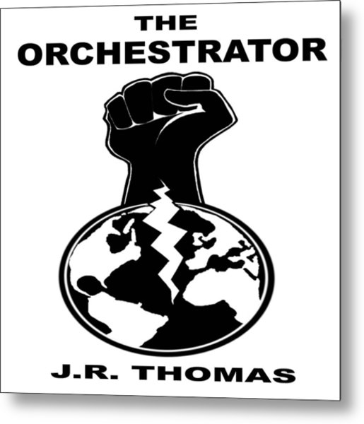 Metal Print featuring the digital art The Orchestrator Cover by Jayvon Thomas