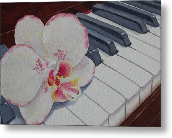 The Orchids Song Metal Print