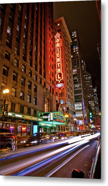 The Oriental Theater Chicago Metal Print