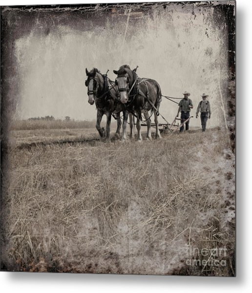The Original Horsepower Metal Print